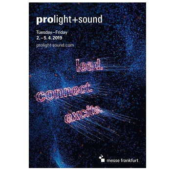 Prolight and sound 2019