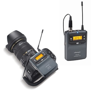 Digital Wireless Microphone System for ENG, EFP, DSLR and Smartphone Video